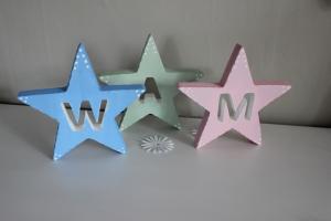 Stjärna med bokstav
