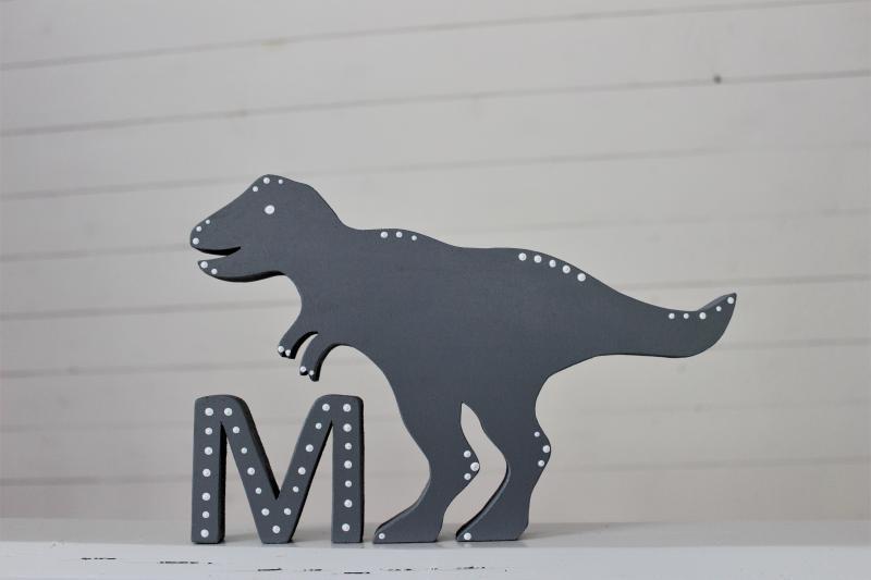 Dinosaurie med bokstav