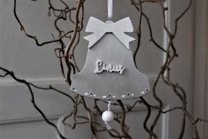 Julklocka med namn