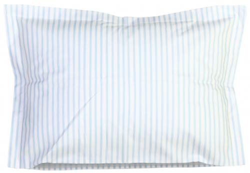 Pillow case | Light blue stripe | Sensitive
