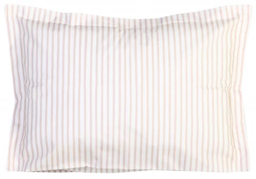 Pillow case | Latte stripe | Sensitive
