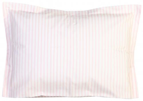 Pillow case | Light pink stripe | Sensitive