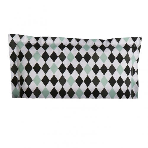 Pillow case | Harlequin black | Circus & Harlequin Black