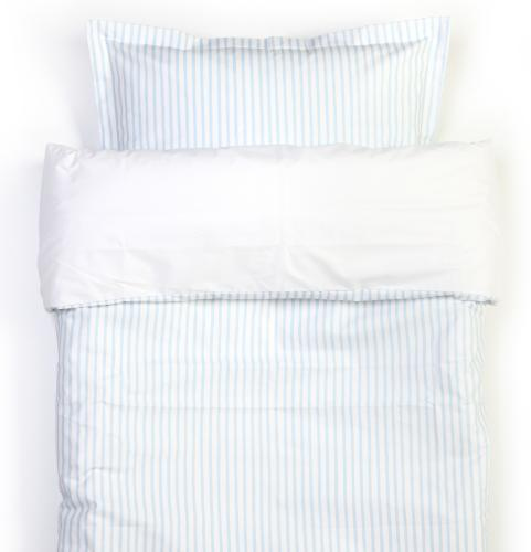 Duvet set | Light blue stripe | Sensitive