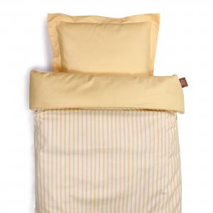 Duvet set | Peach stripe | Sensitive