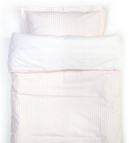 Duvet set | Light pink stripe | Sensitive
