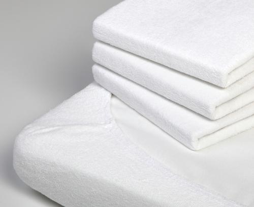 Flat sheet terry cotton | White | Troll