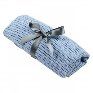 Cellular blanket | Blue