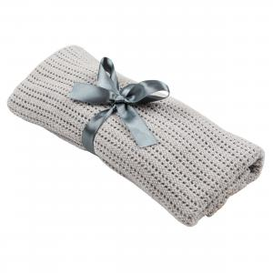 Cellular blanket | Grey