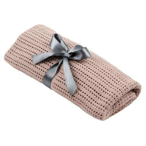Cellular blanket | Dusty pink