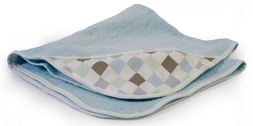 Bath cape | Light blue & Harlequin blue | Circus & Harlequin