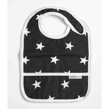 Bib | Black star | New England