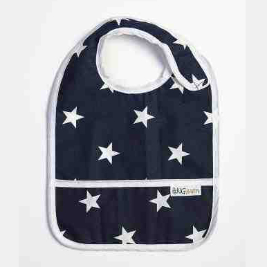 Bib | Navy star | New England