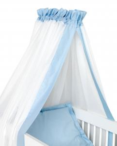 Crib drape | Light blue | Sensitive