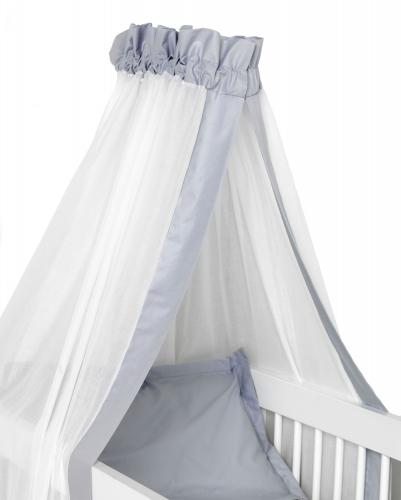 Crib drape | Light grey | Sensitive