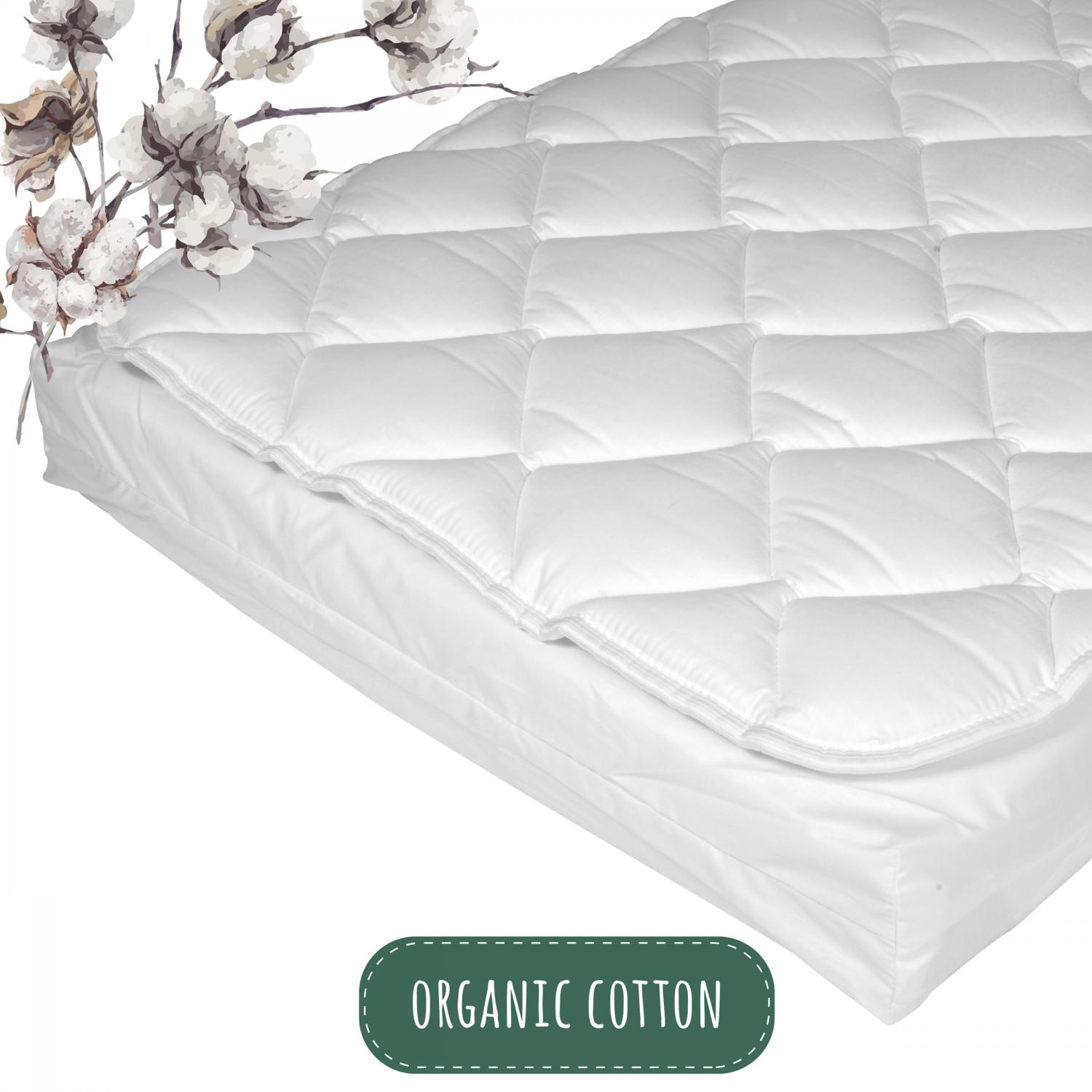 Mattress with topper | Organic Basic