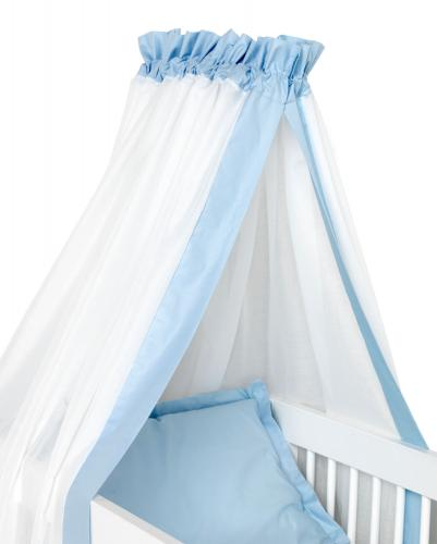 Cot drape | Light blue | Sensitive