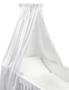 Cot drape | White | Basic