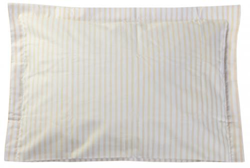Pillow case | Peach stripe | Sensitive