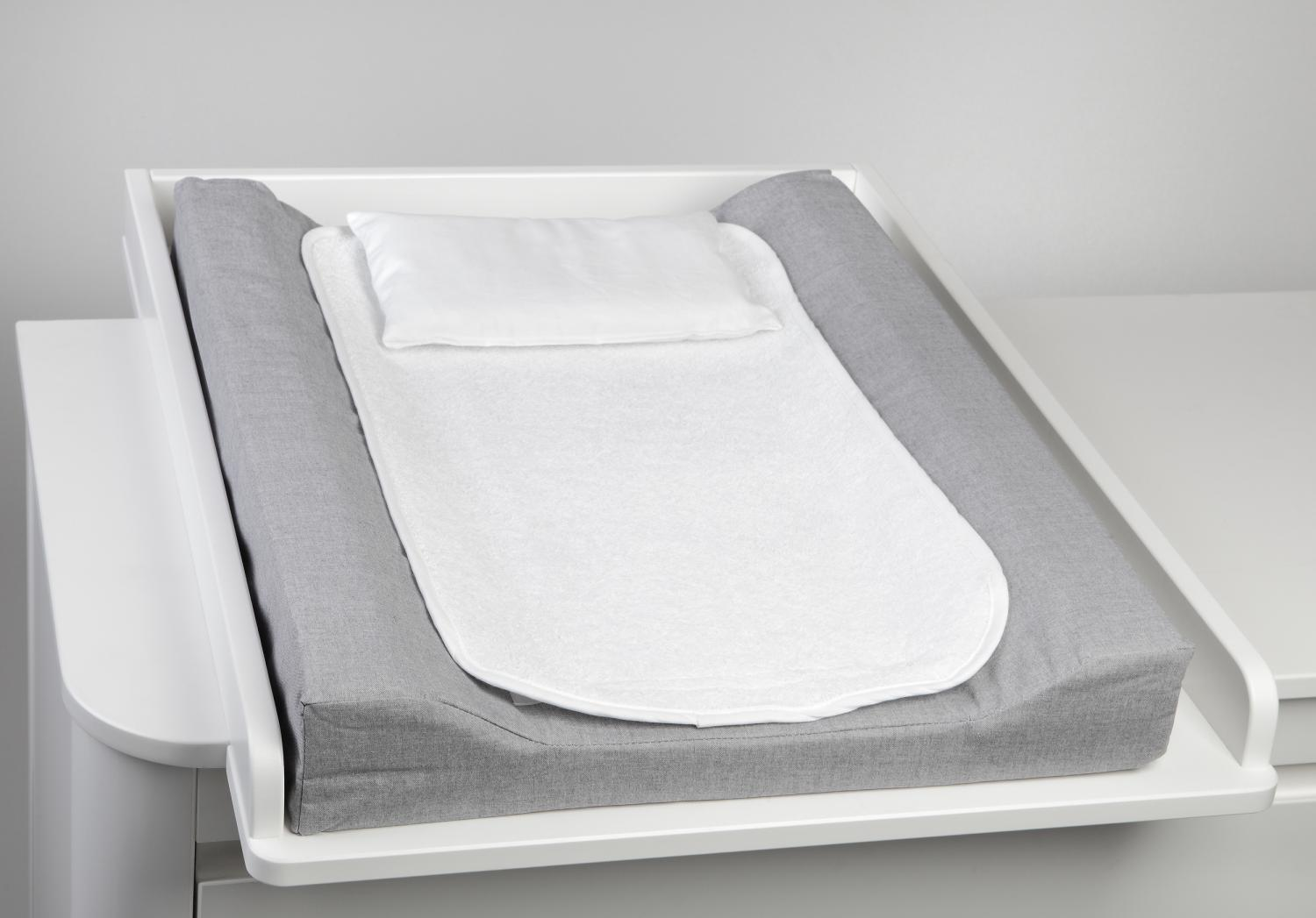 Changing pad de lux | Grey | Basic