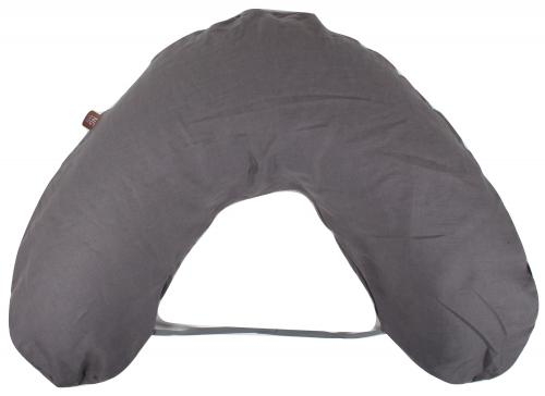 Nursing pillow large | Graphite grey | Mood