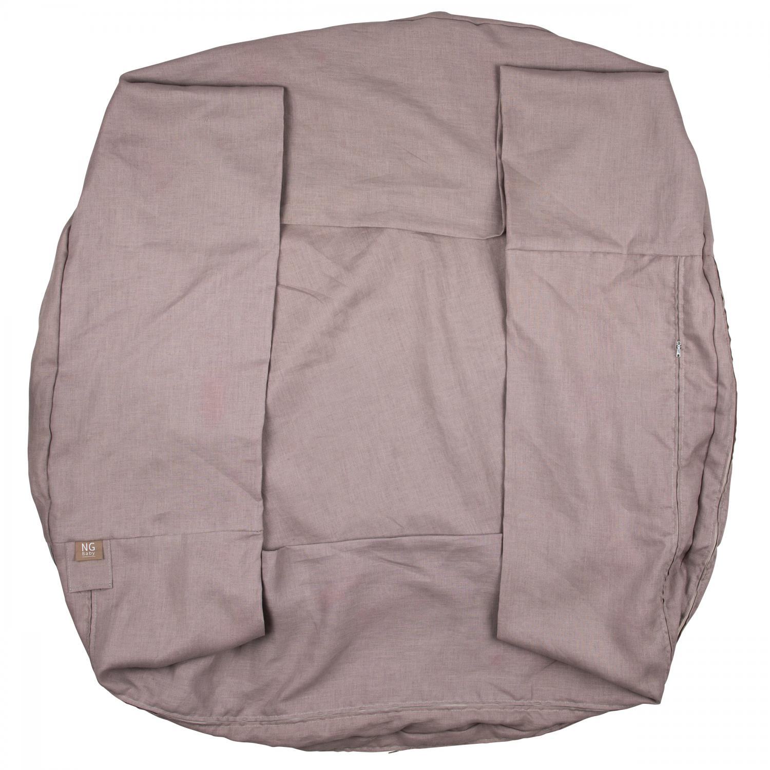 Play nest 120 cm cover   Dusty pink   Mood