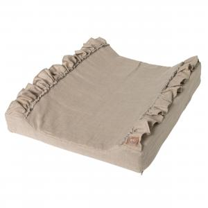 Changing pad standard ruffle |  Natural | Mood ruffles