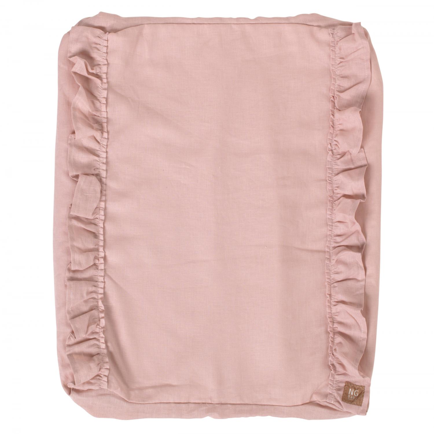 Changing pad ruffle cover | Rose | Mood ruffles