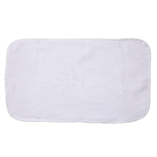 Changing pad standard lace with terry top | White | Mood Lace