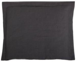 Pillow case | Graphite grey | Mood