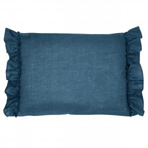 Pillow case ruffle | Blue | Mood ruffles