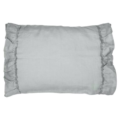 Pillow case ruffle | Light grey | Mood ruffles