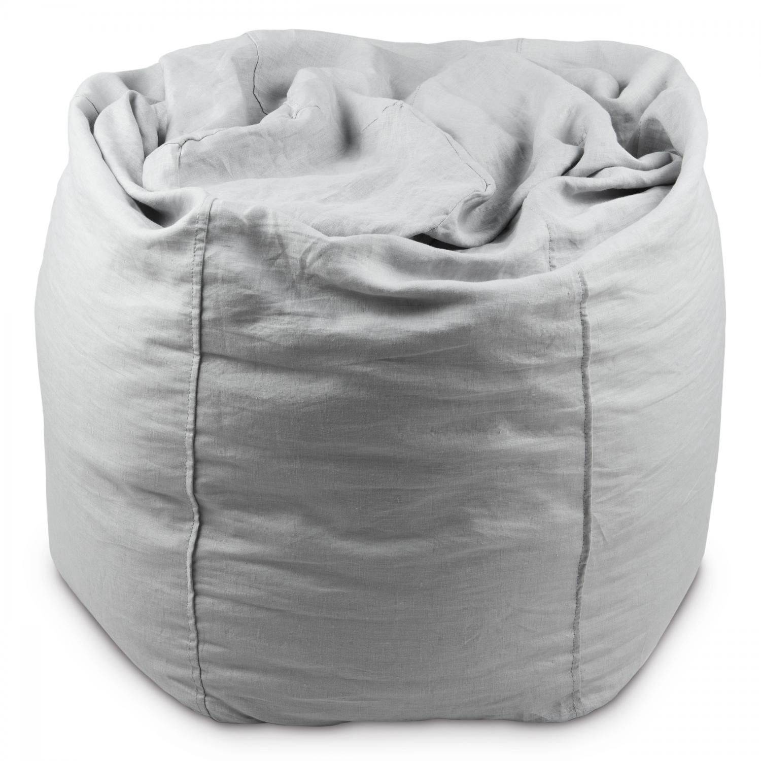 Fantastic Bean Bag Light Grey Mood Ibusinesslaw Wood Chair Design Ideas Ibusinesslaworg