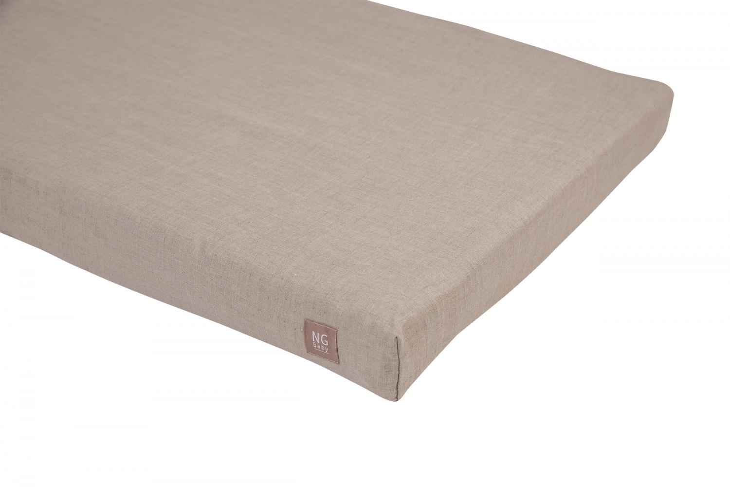Fitted flat sheet | Natural | Mood