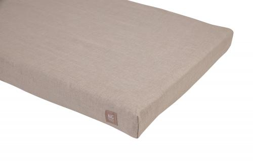 Fitted flat sheet   Natural   Mood