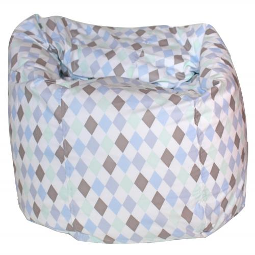 Bean bag | Harlequin blue | Circus & Harlequin