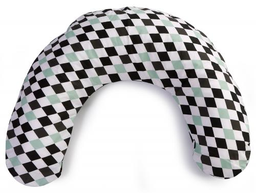 Nursing pillow small | Harlequin black | Circus & Harlequin
