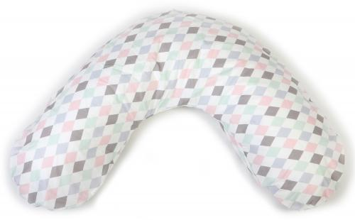 Nursing pillow small | Harlequin pink | Circus & Harlequin
