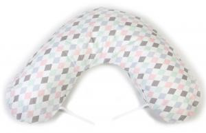 Nursing pillow large | Harlequin pink | Circus & Harlequin