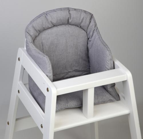 High chair booster | Grey | Basic