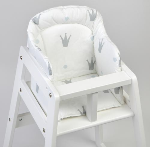 High chair booster | White | Royal