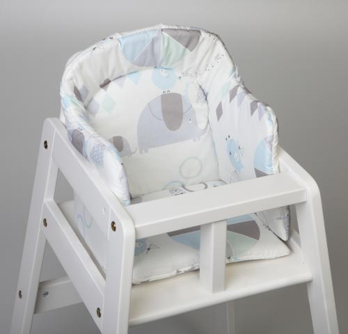 High chair booster | Circus blue | Circus & Harlequin
