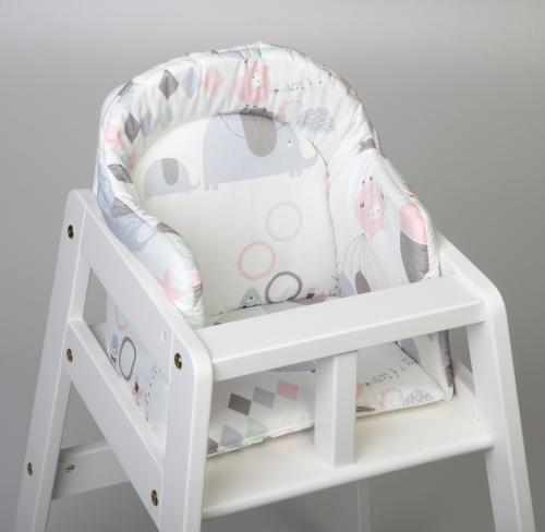 High chair booster | Circus pink | Circus & Harlequin