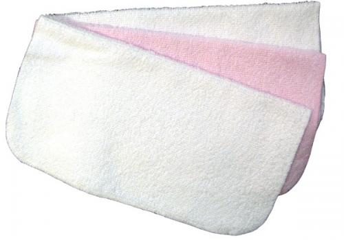Flannels (3-pack) | White & pink