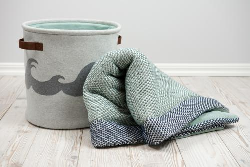 Play mat Petrol | Knitted Basket