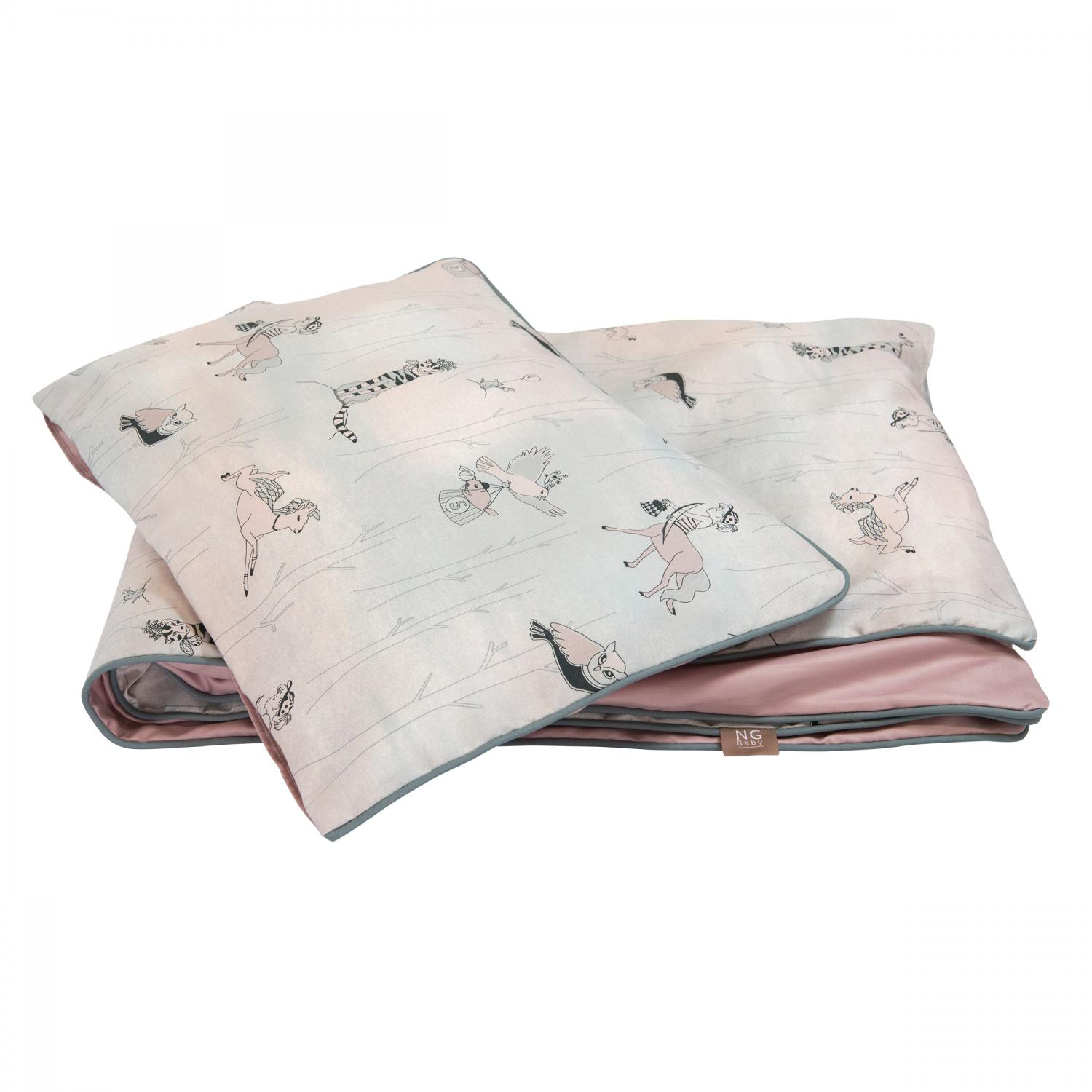 Duvet set piping | Woods rose | Woods & Fairytales