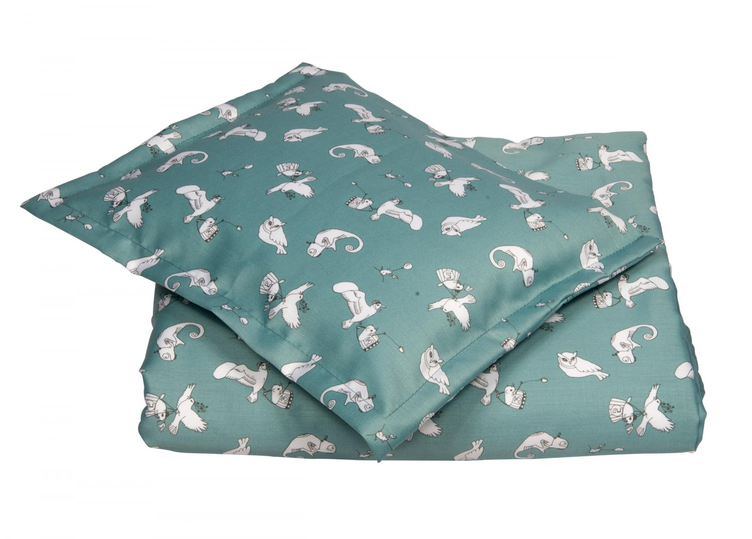 Duvet set | Fairytale petrol | Woods & Fairytales