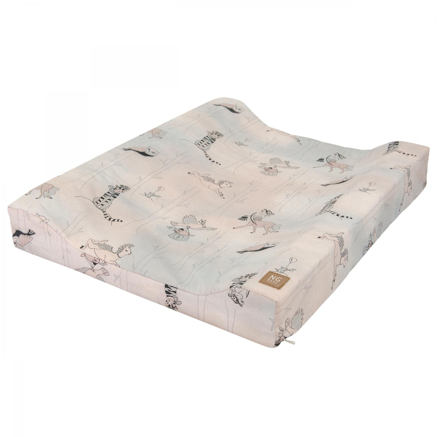 Changing pad standard | Woods rose | Woods & Fairytales