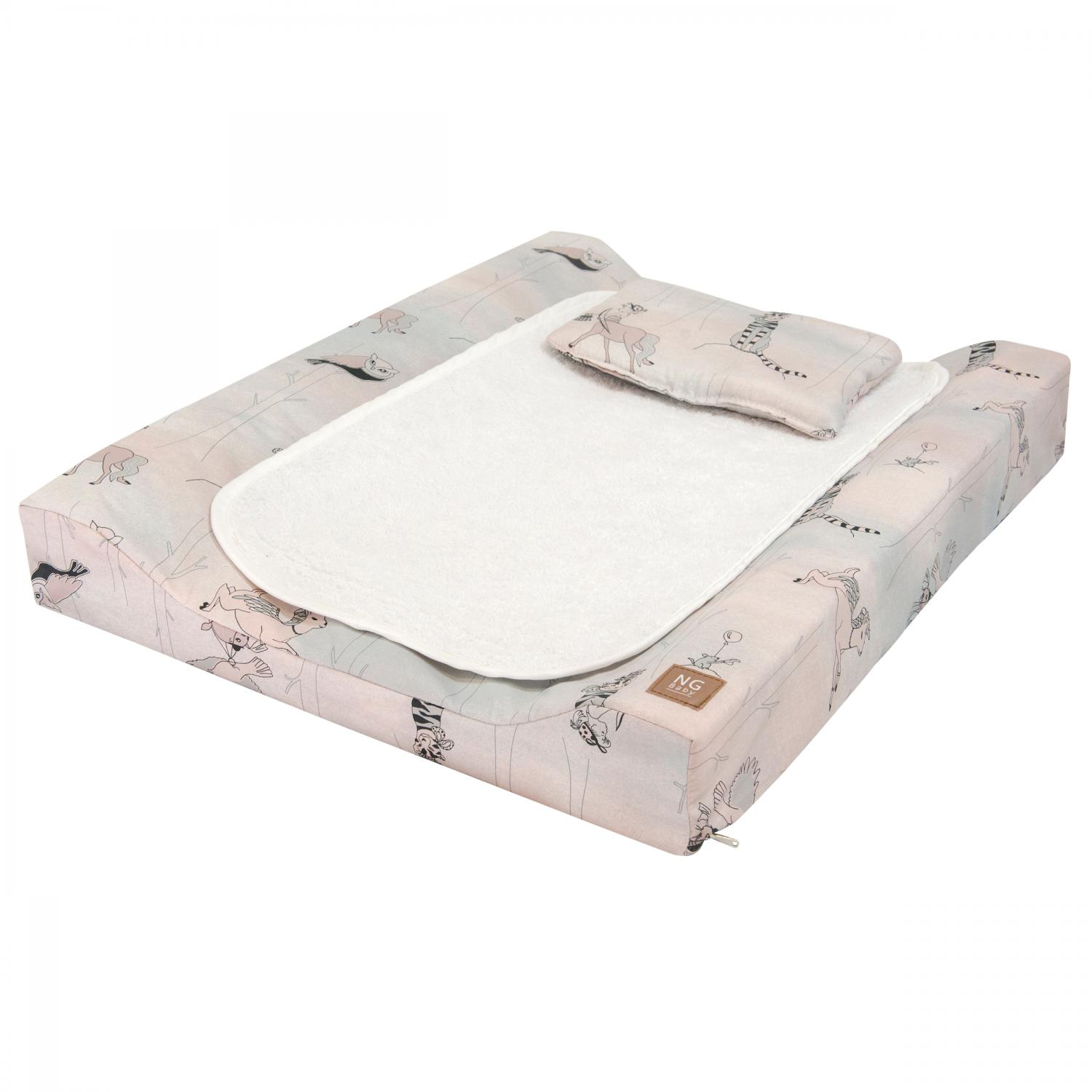 Changing pad de lux | Woods rose | Woods & Fairytales