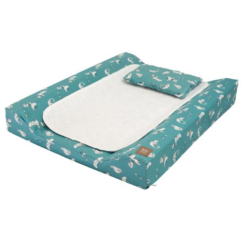 Changing pad de lux | Fairytale petrol | Woods & Fairytales
